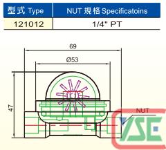 Gear Wheel Vane Flow Indicator