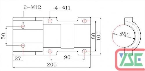 φ60 Standard Copper Plate
