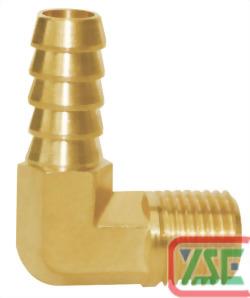 1/4 L-Shaped Hose Coupler