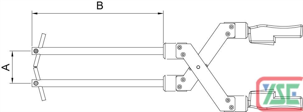 X Type Welding Gun