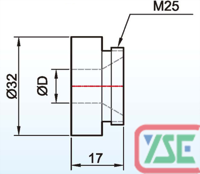 M10 Air Cap for Nut Welding