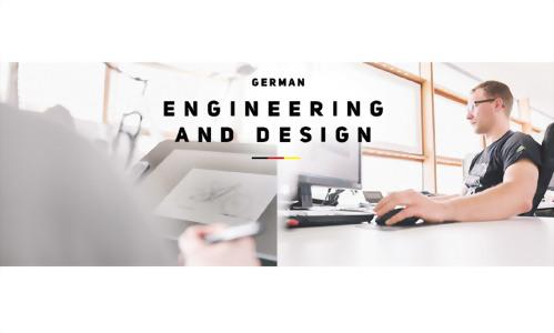 German Engineering and Design 德國基因,美利達R&D研發中心