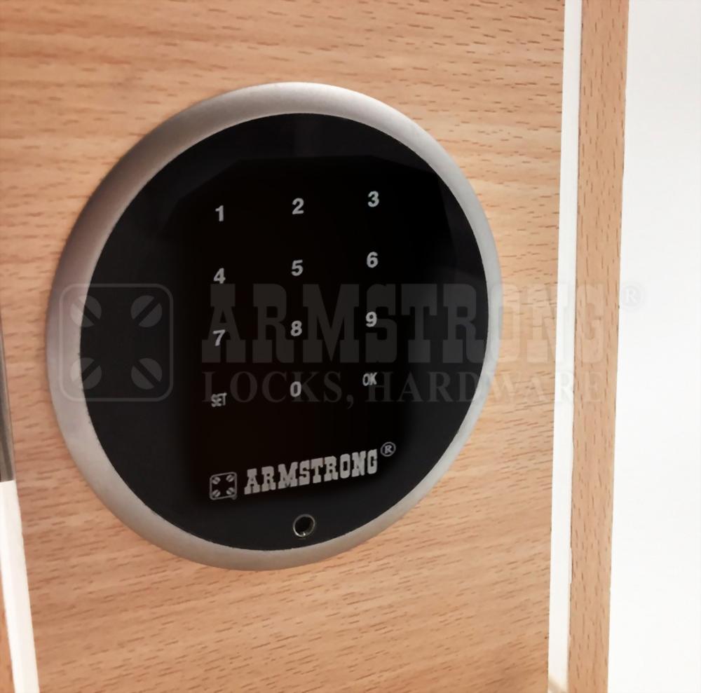 Cerradura de La Contraseña Digital Inteligente de Tipo Redondo Para Gabinete SDWP-003