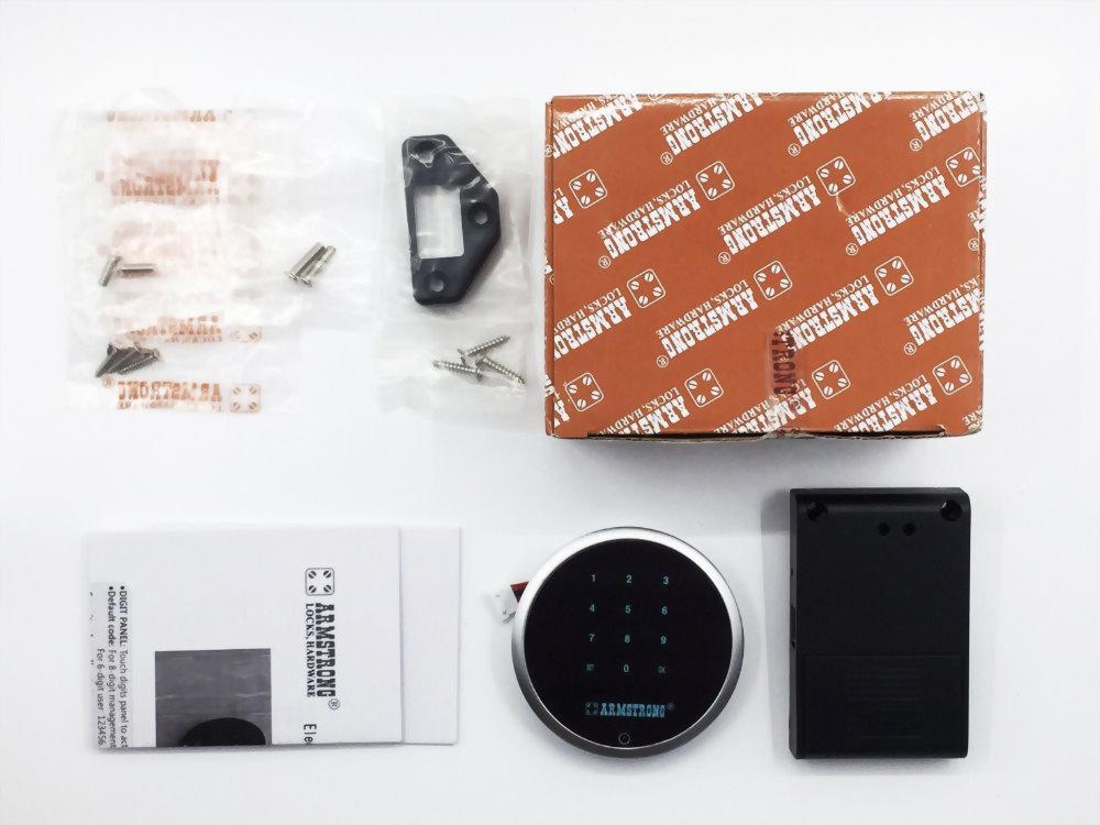 Round Type Smart Digital Password Lock for Cabinet SDWP-003 3