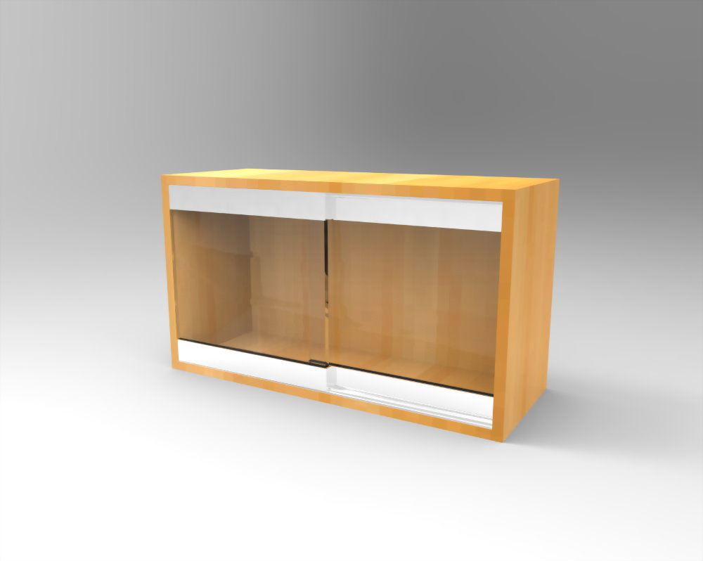 Invisible glass cabinet lock (SDGS-002)