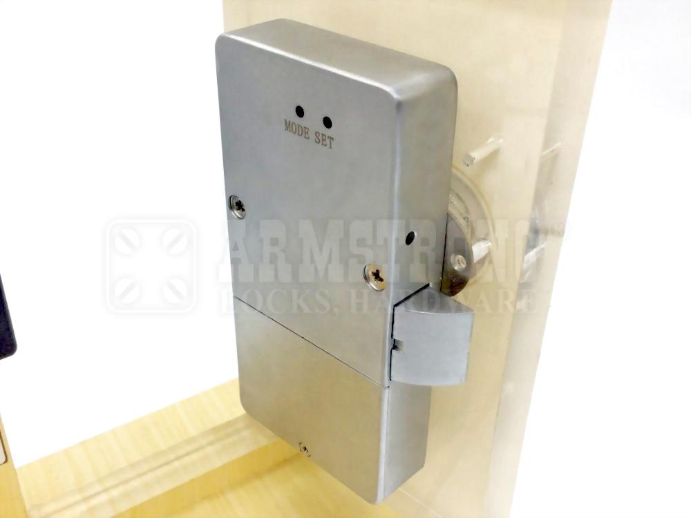 Reinforced Electronic knob Lock SDWC-MC207K 5
