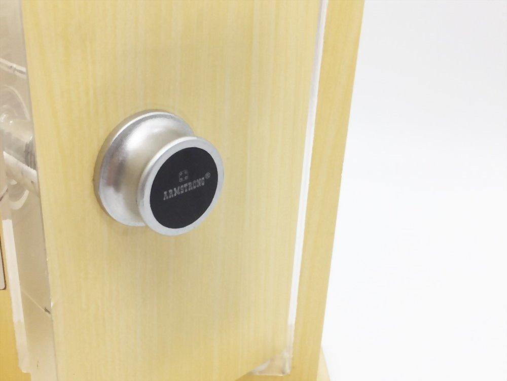 Reinforced Electronic knob Lock SDWC-MC207K 1