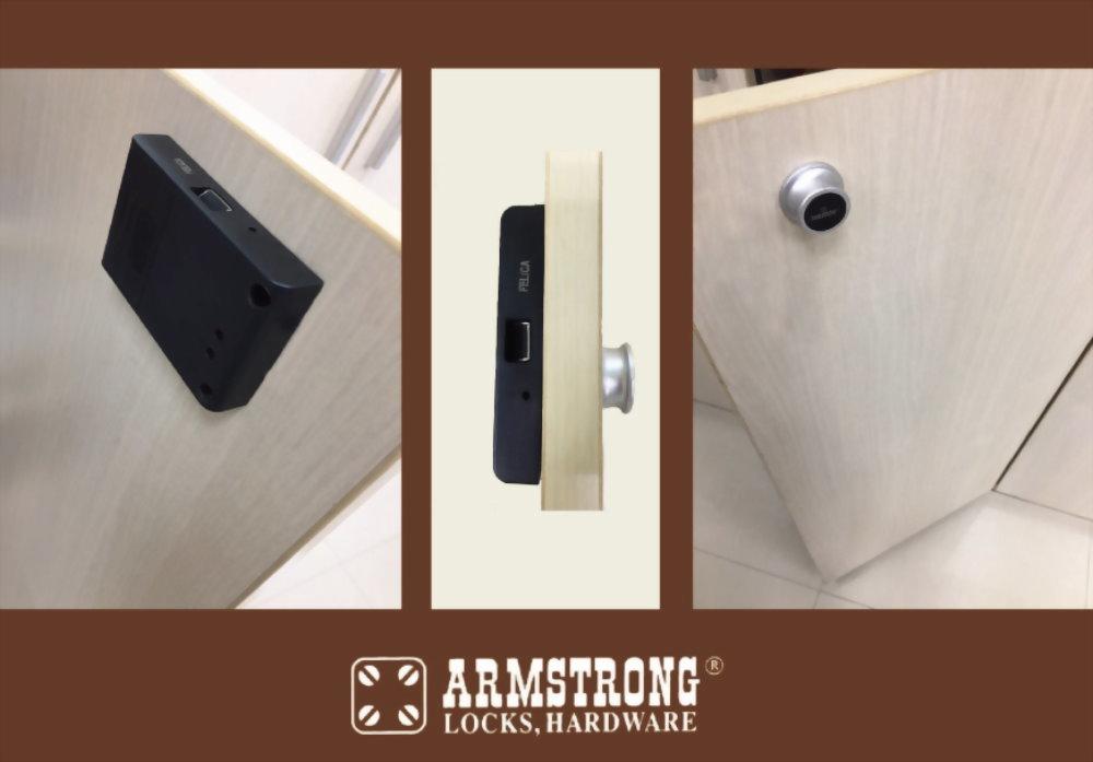 Knob Type Smart Digital Lock for Cabinet SDWC-507K 5