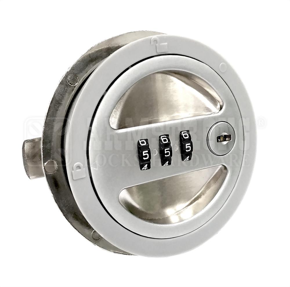 3 Digits Round Type Combination Lock