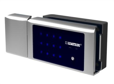 Smart Digital Lock for Glass Cabinet-Double Door SDGC-417