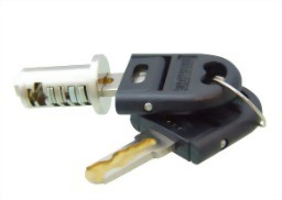 Furniture Lock Series-Cylinder Plug with Wave Key-8 Wafers System-High Security 6000