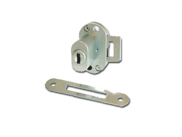 Aluminum Frame Lock For Single Inset Door 411-1I