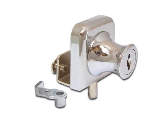Cabinet Single Swinging Glass Door Lock 407 2