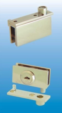 Cabinet Swinging Glass Door Pivoting Cam Lock 410-7 1