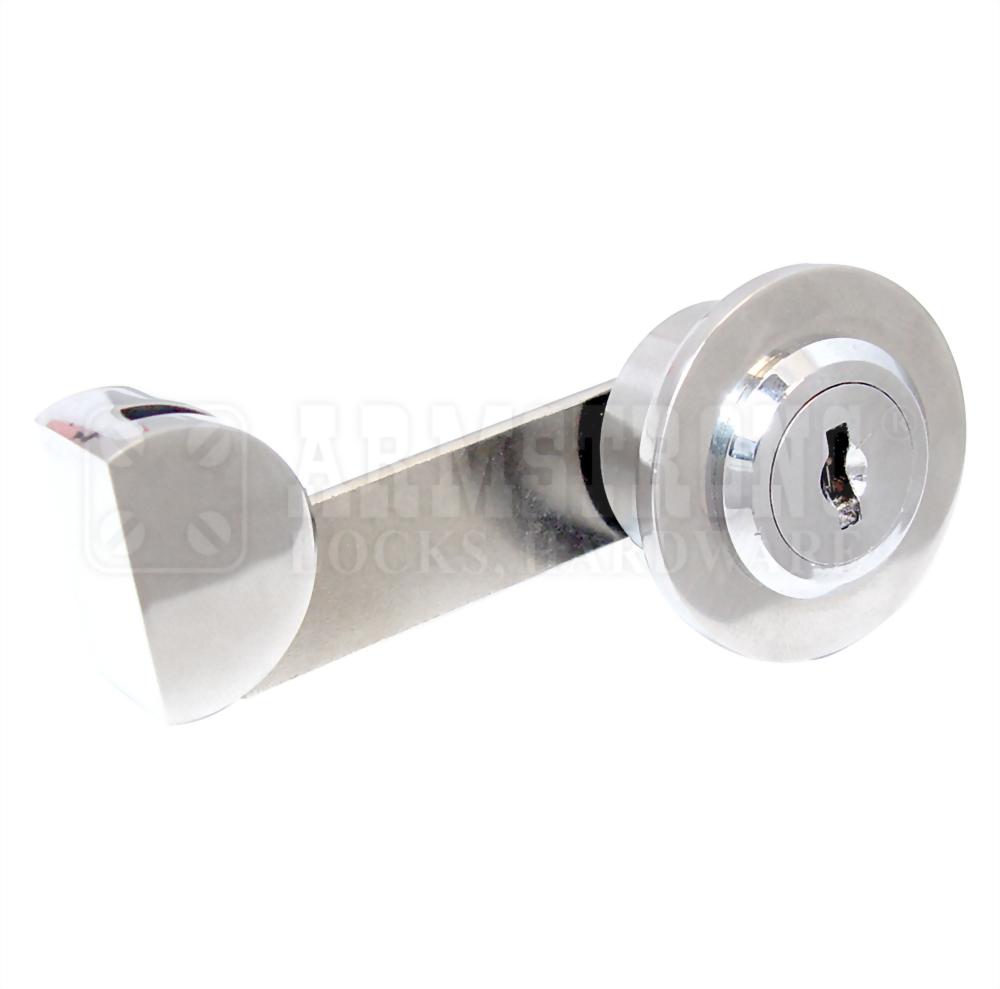 UV Glass Bonding Furniture Lock for Single Inset Door UV-410-1