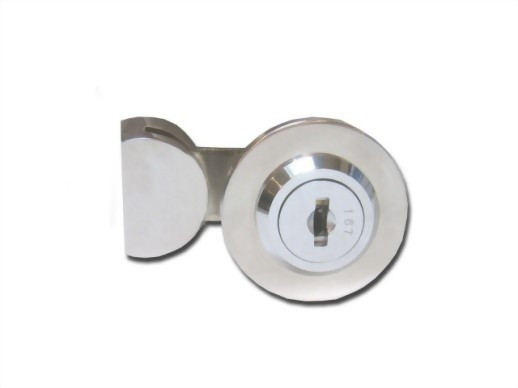 UV Glass Bonding Furniture Lock for Single Inset Door UV-410-1