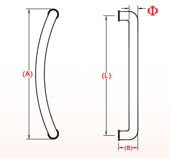 Glass Handle 1410-04-2