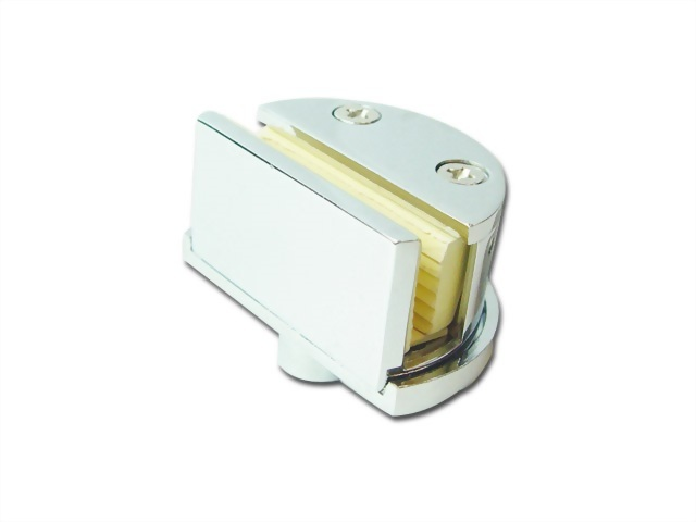 NON-BORE-HOLE SHOWCASE DISPLAY GLASS DOOR HINGE 3010-01