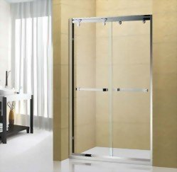 1710 Double Sides Sliding Glass Door System