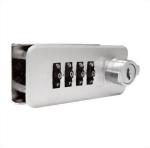 سبائك الزنك سبيكة ارمسترونغ العلامة التجارية 4 تركيبة قفل مركزي DL-666HL-R