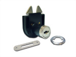 Mortise lock for roller shutter