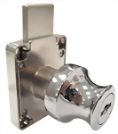 Two turns and long latch (18mm) lock with Knob 508K