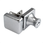 Cabinet Single Swinging Glass Door Lock 407-3-5