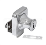 Cabinet Single Swinging Glass Door Lock 407