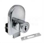 Cabinet Single Swinging Glass Door Lock 408