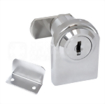 Cabinet Single Swinging Glass Door Lock 410-4