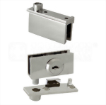 Cabinet Swinging Glass Door Pivoting Cam Lock 410-7