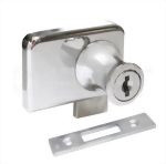 Cabinet Double Swinging Glass Door Lock 417