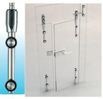 TOP PIVOT BAR(UPPER GLASS DOOR PIVOT BAR)-Glass To Wall 1500SUS-01-Sunken Screw Series