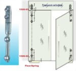 Glass Door Hinges glass to glass 1500sus 03 sunken screw series