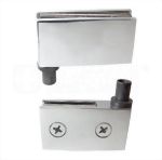 CABINET GLASS DOOR HINGE WITH SUNKEN SOCKET 3010-02-SK