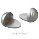 紫外光固化膠黏著玻璃配件–木製玻璃櫃角鍊 UV-3010-36