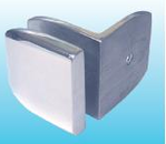 90 degree Stainless Glass Clamp-Glass to Wall 1200SUS-02-GW