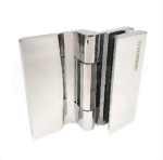 Glass Door Hinge With screw cover-Glass to Wall-Push open type