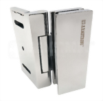 Glass Door Hinge With screw cover-Glass to Wall-Pull open type