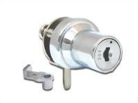 Glass cabinet lock - single door - C407-1-5 K/A #120