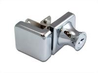 Glass cabinet lock - single door - C407-3-5 K/A #120