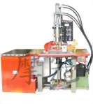 T型雙頭高週波塑膠熔接機-液晶顯示型油壓式