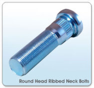 Round Hand Ribbed Neck Bolts