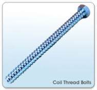 Coil Thread Bolts