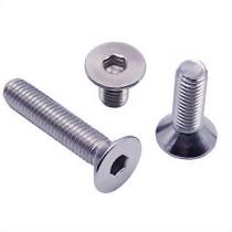 Hex socket flat head cap screws