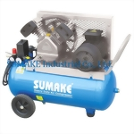 2HP SINGLE STAGE BELT TYPE AIR COMPRESSOR WITH 50 LITER TANK