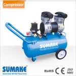 Silent Oil Free Air Compressor,2HP, 50L Tank