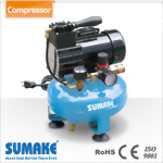1/6HP Oil-Less Mini Air Compressor w/4L Tank