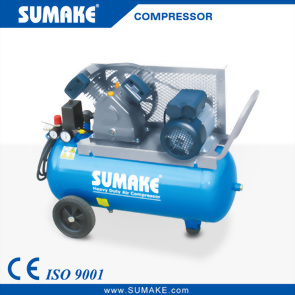 3HP Single Stage Belt Type Air Compressor with 50L Tank