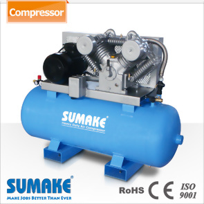 Industrial 10HP Two Stages Belt Type Air Compressor With 270L Tank